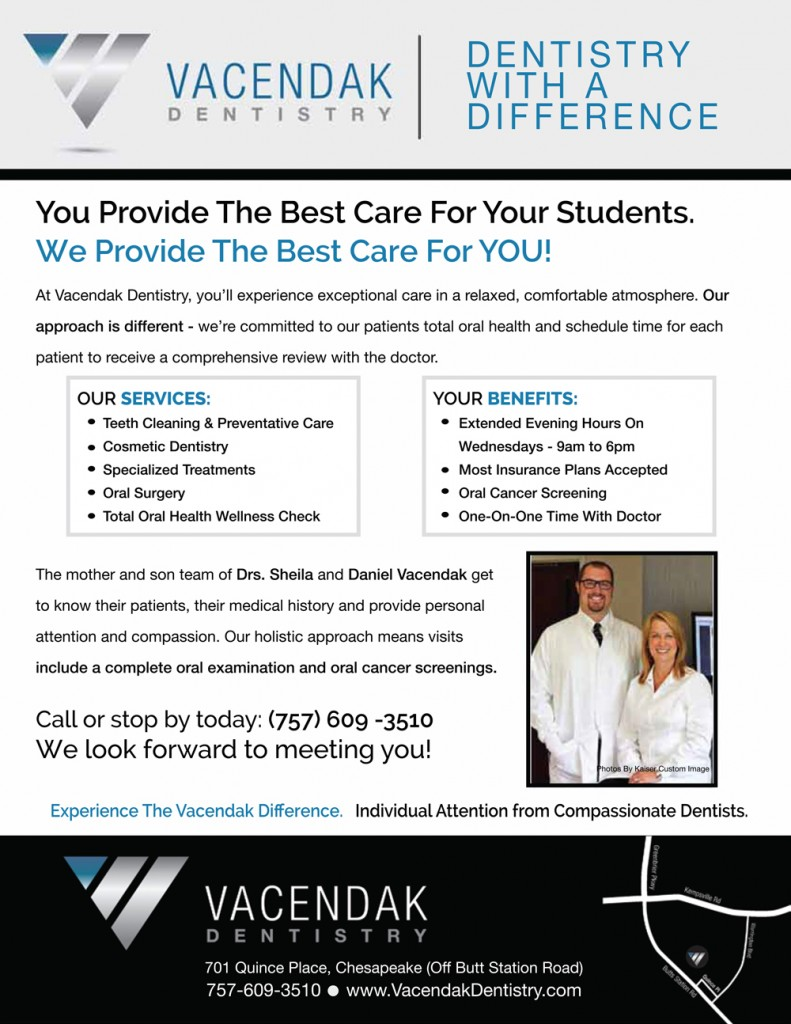 Vacendak-Dentistry-2015-Educator-Flyer